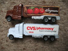 Pez Retired Wegmans and CVS I Advertising Haulers - Both Mint