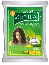 100g Zenia Cassia Obovata Italica Neutral Henna Senna Powder 2014 Crop