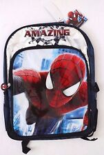 Marvel Comics Heys Amazing Spider-Man Kids Boys Backpack Bookbag School Bag 15""