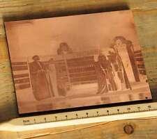 ORIENT  Galvano Druckstock Kupferklischee Druckplatte Druckerei Bleisatz Drucker