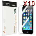 10pc Clear Reusable LCD Screen Protector Cover Guard for iPod Touch 5 5th Gen 5G