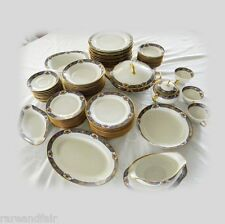 Mavaleix and Granger Limoges dinnerware service - marked - Old Abby FREE SHIP