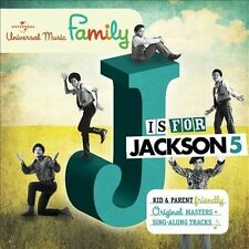 Jackson 5 - J Is for Jackson 5 (Audio CD - 2010) NEW