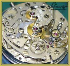 Reparación revisión renovación general lemania 1873 mecánicos funcionan chronograph