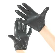 New Men's 100% Genuine Leather Police Tactical Gloves/Driving Gloves C