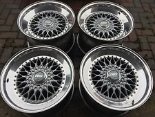 "18"" BBS RS split Rim Alloy Wheels Step Up 5x114.3 5x112 Jap Golf Oz Rotiform Rf"