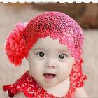 New Newborn Baby Kid Girl Elastic Flower Headband Hairband Hair Accessories