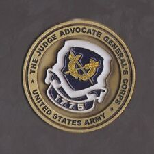 The Judge Advocate General's  U.S. Army  Challenge Coins 1.5 Inch DIA