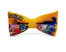 "Pokemon Go Adult Size solid 2 layer party wedding pre-tied ""WoW bow ties"""