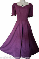 VINTAGE 1993 LAURA ASHLEY 3 BOW FEATURE BACK OCCASION DRESS, 14/16 (LABEL 18)