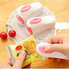 Portable Mini Heat Sealing Machine Impulse Seal Packing Plastic Bag Sealer UK