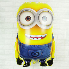1x Cute Big Despicable Me Minions Happy Birthday Balloon Minions baby boy HUGE!