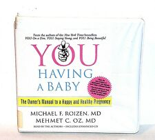 BOOK/AUDIOBOOK CD Michael Roizen Mehmet Oz Pregnancy YOU HAVING A BABY