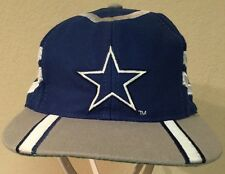 VTG NFL Dallas Cowboys Snapback Hat~Eastport Wool Football Cap--One Size