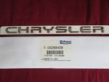 NOS OEM Chrysler Neon Name Plate Emblem Rear Trunk 1997 - 99 Chrome