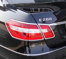 Mercedes E Class W212 3/2009 to 2/2013 CHROME REAR LIGHT TRIM