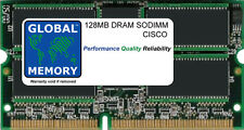 128MB DRAM SODIMM CISCO CAT 6000  DISTRIBUTED FORWARDING CARD ( MEM-DFC-128M )