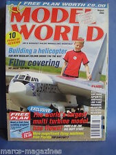 RCMW RC MODEL WORLD AUGUST 2004 AERONCA 0 58 A PLANS MATHEW GEORGE B52