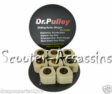 DR PULLEY ROLLERS WEIGHTS 20x12 12.5G for KYMCO People GT200i YAMAHA X-MAX 250