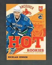 NICKLAS JENSEN #HK12 CANUCKS HOT ROOKIES 2013/14 Panini Toronto Expo wrapper red