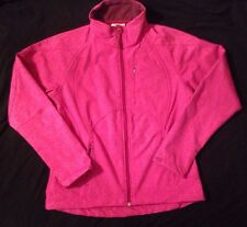 Double Diamond Softshell Blossom Lined Women's Ski Jacket Hot Pink Size Small