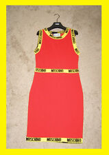 *FINAL SALE! NWT Moschino Couture x Jeremy Scott McDonalds Runway Red dress sz 8