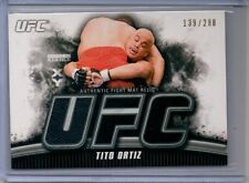 2010 Topps UFC Knockout Tito Ortiz Black Mat Relic /288