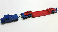 Matchbox Major Pack M-6 Pickford's Transporter Red and Blue Near Mint