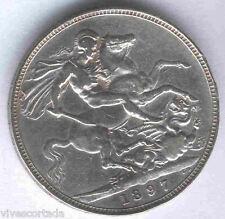 Gran Bretaña 1 Corona 1897 R. Victoria @ Muy Bella @