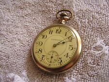 Antique Hampden Pocket Watch 15 Jewels No. 109