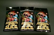 Knights of the Slice Toy Pizza Blind Bag Action Figures x3 Packs New Unopened
