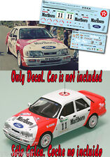 Decal 1:43 Gregorio Picar - FORD SIERRA COSWORTH - Rally El Corte Ingles 1992