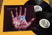 """ALMAMEGRETTA 2LP 12"""" (45 GIRI) LINGO 1°ST ORIG 1998 TOP EX AUDIOFILI COLLEZIONIS"""