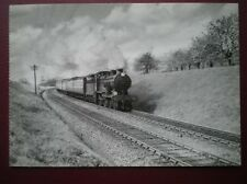 POSTCARD A SOUTH EASTERN & CHATHAM CLASS D1 LOCO IN KENT