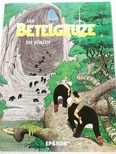 Leo BETELGEUZE # 4 Die Höhlen ( Epsilon , Softcover ) Z 0-1