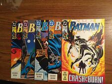 DC Comics Batman Lot Of 5 Books 480 481 482 483 484 (this Is Our Only 484)