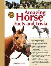 AMAZING HORSE FACTS & TRIVA Guide to the Equine World NEW Wire-o-Bound HARDCOVER