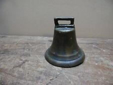 Vintage Brass Sleigh/Cow Bell 3""