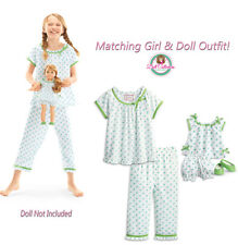 American Girl CL MARYELLEN DUO FLOWER PRINT PAJAMAS M 10/12 for Girl & Doll NEW