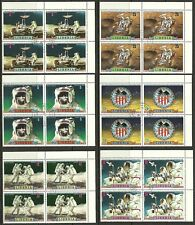 Liberia - 1972 - L13 - Apollo 16 Mission Moon Space Spazio Set Cpl - Used