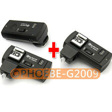 RF-16NE Wireless Flash Trigger for CANON w/ 2 Receivers