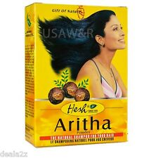 Hesh  Aritha  Reetha Soap Nut Powder Hair & Scalp Cleaser  SAPINDUS TRIFOLIATUS