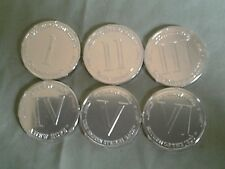 STAR WARS TAC lot of 6 different coins (cl7) with free collection album