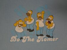 THE SIMPSONS - DO THE HOMER - MEDIUM BLUE T-SHIRT B904