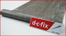 DC FIX Grey Wood 1m x 45cm Sticky Plastic Self Adhesive Vinyl Contact Paper 3186
