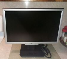 Acer Widescreen LCD Monitor AL1916W-A 19""