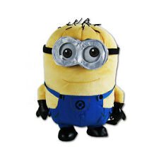 Brand New Despicable Me Minion Jerry Two Eyes Kids Plush Backpack