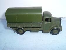 DINKY TOYS #30SM AUSTIN COVERED ARMY WAGON USA VERSION MISSING HEADLIGHTS C PICS