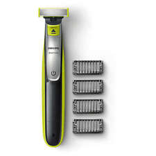 Phillips One Blade QP2530 Rechargeable Li-Ion Shaver Trimmer 4 X Combs + Charger