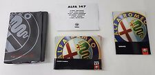 I proprietari manuale & SERVICE BOOK Pack-ALFA ROMEO 147 2.0 2001 (jpmotorparts)